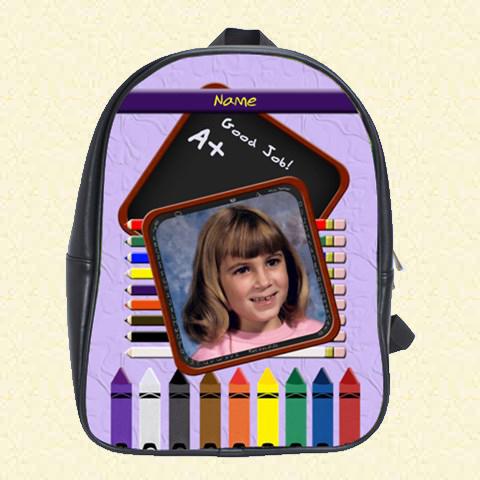 Back to School Pencil School Bag