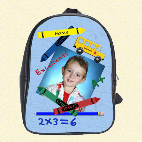 Back to School blue School Bag (Duplicate)
