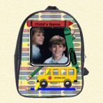 Crayon School Backpack