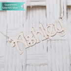 Sterling Silver Harrie Style Name Necklace Customizable Personalized Fine Jewelry
