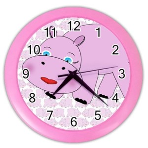 hippo-clock-pink