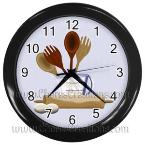 kitchen-clock-black