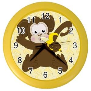 monkey-clock-yellow