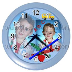 school-clock-blue