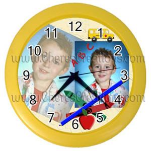 school-clock-yellow